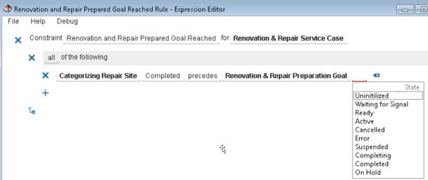 Compliance Rule Editor
